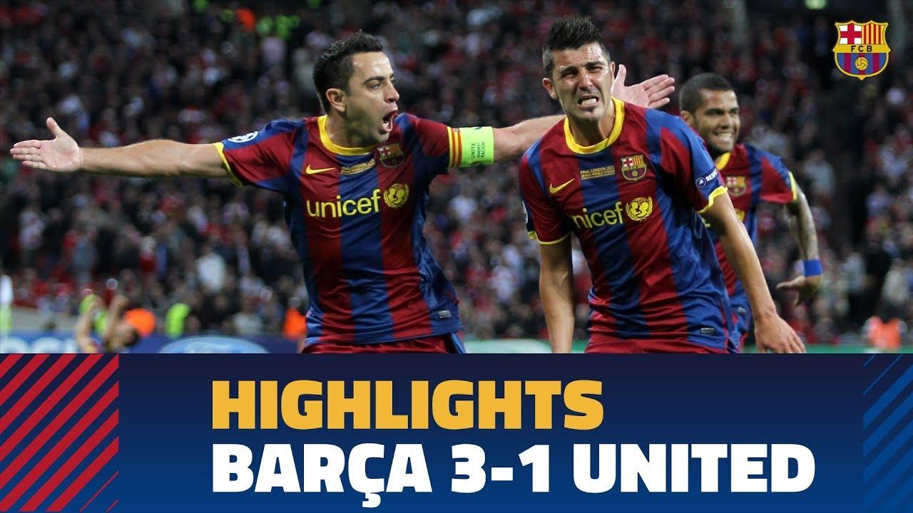 Barca 3 1 United Champions League Final 2010 11 Youtube