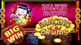 Dancing Drums Slot Machine HUGE WIN | Major JACKPOT WON | Dancing Drums Slot $8.80 Max Bet Bonus