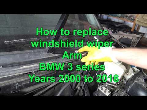 REAR WINDSCREEN WINDOW WIPER ARM WITH WIPER E34 ESTATE BMW 5 SERIES