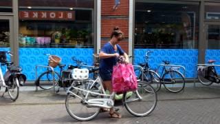 The Netherlands on folding Brompton bikes