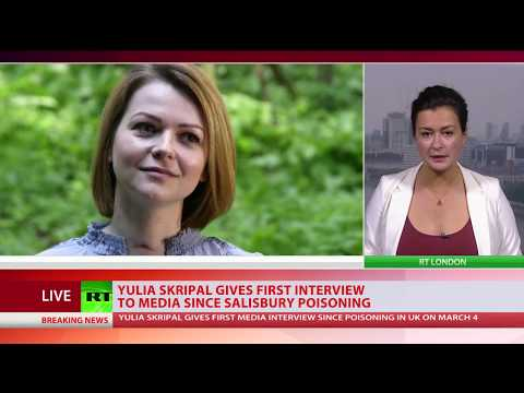URGENT: Yulia Skripal gives first media interview since Salisbury Poisoning