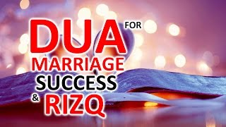 Must Listen AMAZING WAZIFA | ᴴᴰ DUA FOR SUCCESS, RIZQ & Marriage ᴴᴰ