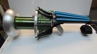 Tesla Coil Gun small test sparks