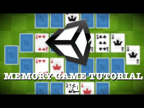 Unity3D Tutorial - How to Make a Memory Game 1