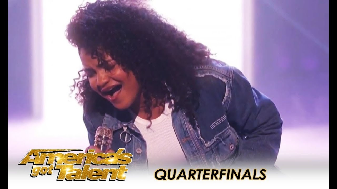 "Amanda Mena: 15-Year-Old Puts AMAZING Latin Spin On ""What About Us"" 