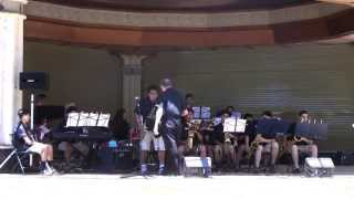 Canyon HS Jazz Band - Hawaiian Music Festival, March 31, 2015