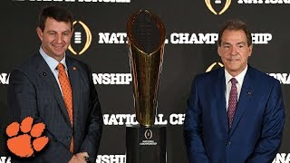 Dabo Swinney & Nick Saban Share Initial Thoughts On CFP Rubber Match