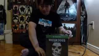Watch Dogs Limited Edition Unboxing Xbox One