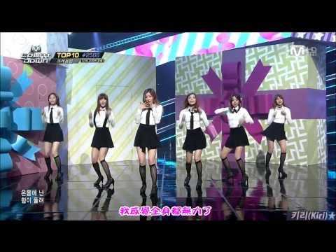 【HD繁體中字】 140410  A pink - Mr.  Chu @ MCountdown
