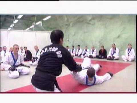 Han Moo Do fit4you ohjelmassa vuonna 2003
