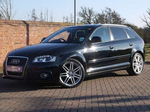 2009 audi a3 s line sportback 2 0tfsi quattro dsg for sale in hampshire youtube. Black Bedroom Furniture Sets. Home Design Ideas