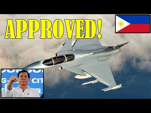Philippines is acquiring Swedish-made Fighter Jets Gripen Smart Fighter