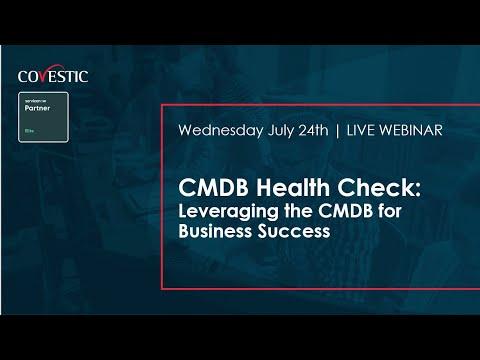 CMDB Health Check – Leveraging The CMDB For ServiceNow Success