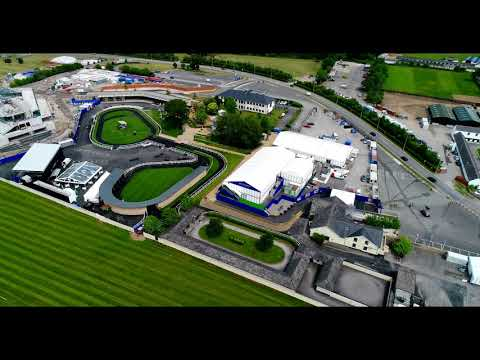 The Curragh Racecourse by Eventus Ltd Marquee Hire