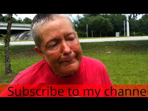 Homeless Addiction Jacksonville Fl Mom & Son Panhandling For Drugs and Beer