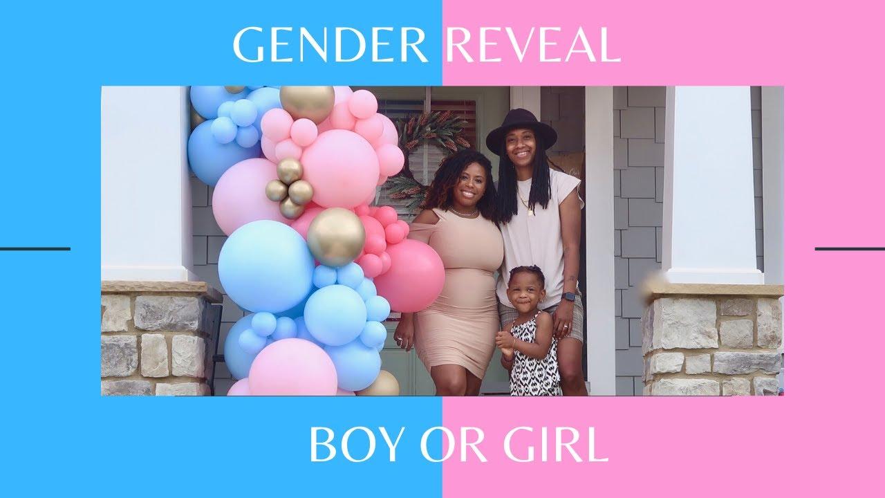 Surprise Gender Reveal w| Reactions! | Jamilla & Que