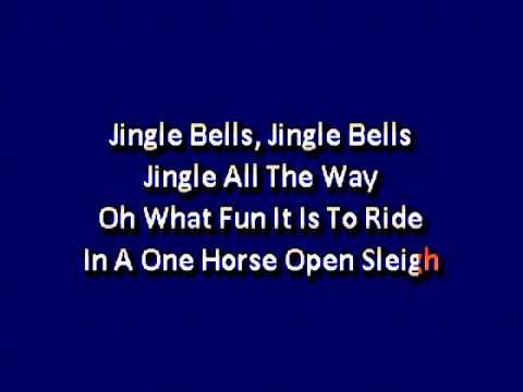 Christmas song  Jingle Bells karaoke