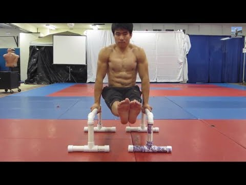 Gymnastics ab workout part 1 advanced ab workout youtube