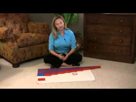Montessori Math Lesson - Number Rods
