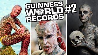 15 Modificazioni del Corpo più Estreme - GUINNESS WORLD RECORDS #2