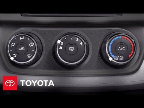 2013 RAV4 How-To: Manual AC   Toyota