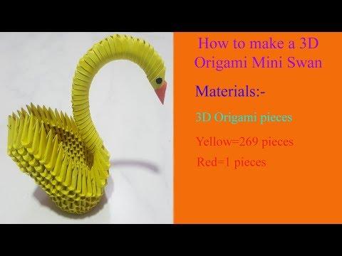 3D Origami Swan | 360x480