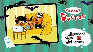 Kid-E-Cats Doctor: Halloween update! Games for kids (on iOS and Android)