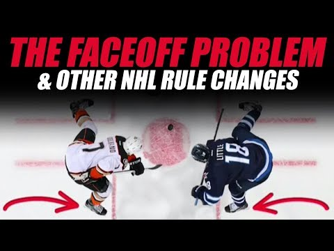 The NHL Faceoff Problem & Other Rule Changes