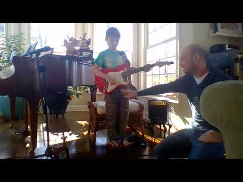 Fender Squier Mini Series Kids Guitar Review By My Nephew Hudson