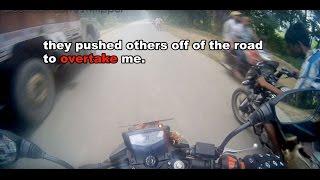 dangerous street race episode 1 tvs apache rtr 200 vs bajaj pulsar 180
