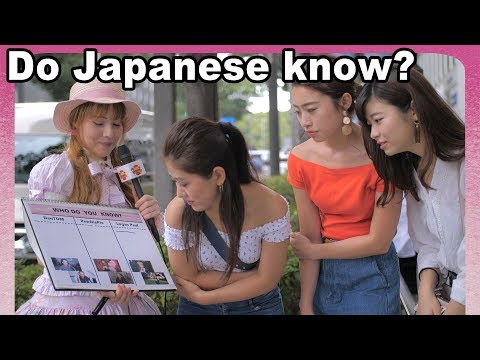 JAPAN on PewDiePie, DanTDM and Logan Paul: Do Japanese girls and boys know foreign YouTubers?