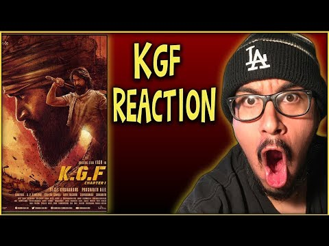 THE BEST TRAILER OF 2018 - KGF Trailer 2 Reaction