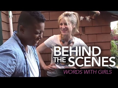 Behind the s  WORDS WITH GIRLS ColorCreative.TV