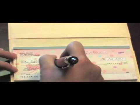 How To Write A Check - Carousel Checks