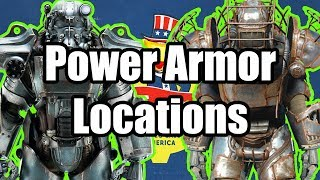 Fallout 76 - 20+ Power Armor Locations And Power Armor Tips, High Level Gear (Fallout 76 Guide)