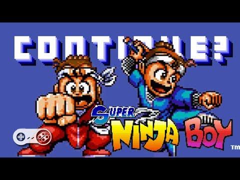 Super Ninja Boys (SNES) - Continue?