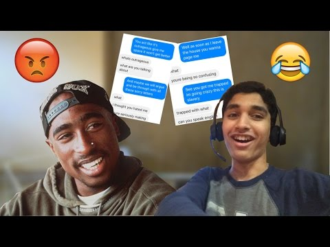 Song Lyric Text Prank On Ex-Girlfriend! Trolling With 2pac-Don't You Trust Me