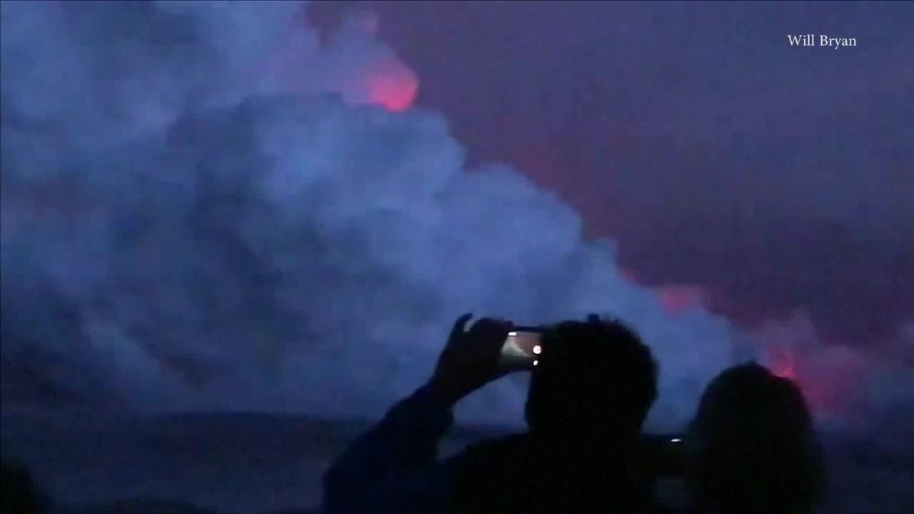 RAW VIDEO: Lava Bomb Hits Hawaii Tour Boat