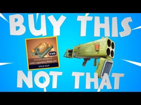 Quad Launcher, Legendary Perk Up & More! Fortnite Event Store!