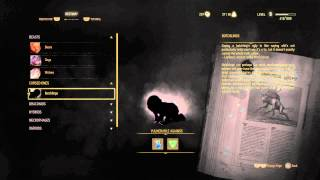 The Witcher 3: Wild Hunt - Botchlings Bestiary (Cursed Ones) Information, Weakness Cursed Oil & AXII