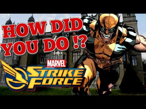 Blitz, Mercs and Cable ! : Marvel Strike Force