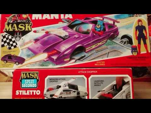 M.A.S.K. Toys Massive Archive - Part 1/ Presented by Retro Toy Escapades