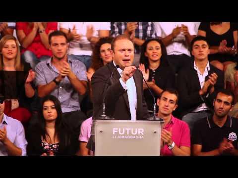 PL Mass Meeting | Joseph Muscat | 22 Settembru 2012