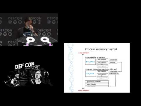 DEF CON 23 - Ryan Oneill -  Advances in Linux Process Forensics Using ECFS