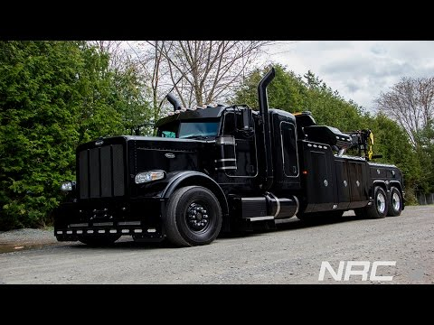Peterbilt All Black with NRC 50CS - Ready for the first call
