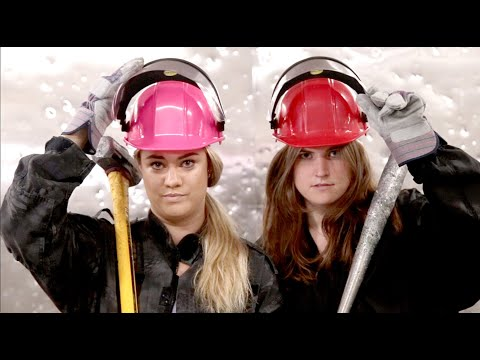 SILive Tries: Amanda takes a sledge hammer to electronics at The Wrecking Club