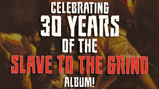 Skid Row - SLAVE TO THE GRIND - Album Facts Video