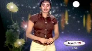 Jayathi (tv anchor) fully fitted boobs