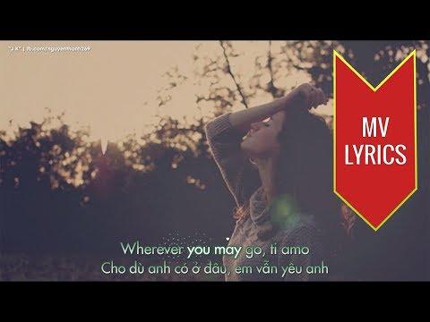 Ti Amo | Gina G | Lyrics [Kara + Vietsub HD]