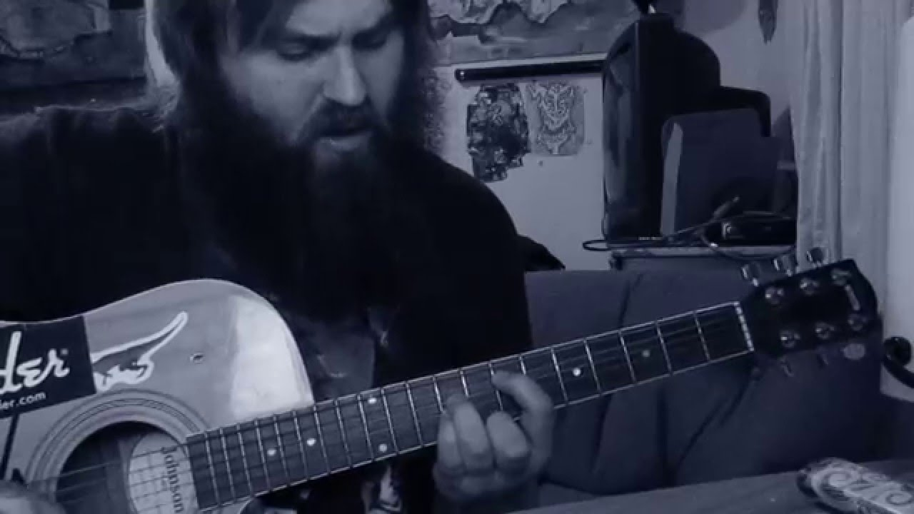 how to play iron man black sabbath on acoustic guitar